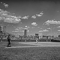 Baseball At Wrigley In The 1990s by Mountain Dreams