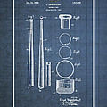 Baseball Bat By Lloyd Middlekauff - Vintage Patent Blueprint by Serge Averbukh