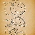 Baseball Cap Patent 1955 by Mountain Dreams
