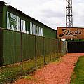 Baseball Field Bull Durham Sign by Frank Romeo