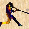 Baseball Game Art by Marvin Blaine