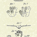 Baseball Glove 1907 Patent Art by Prior Art Design