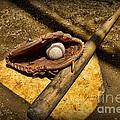 Baseball Home Plate by Paul Ward