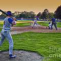 Baseball On Deck Circle by Thomas Woolworth