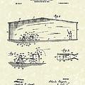 Baseball Pitcher 1902 Patent Art by Prior Art Design
