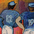 Baseball Team By Jrr  by First Star Art