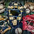 Baseball Vintage Gear by Paul Ward