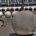 Baseballing At A T T Park by David Bearden