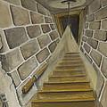 Basement Stairs by Brenda Salamone