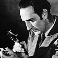 Basil Rathbone In Sherlock Holmes And The Voice Of Terror  by Silver Screen