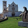 Basilica Di San Francesco - Assisi by Phil Banks