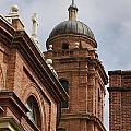 Basilica Of Saint Lawrence Steeple by Jonathan Welch