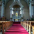 Basilica Of Saint Stanislaus Kostka Interior Center by Kari Yearous