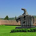 Basilica Of San Francesco D'assisi Statue  by Alan Toepfer