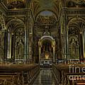 Basilica Of St. Josaphat by David Bearden