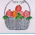 Basket For The New Year by Linda Feinberg