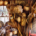 Basket Maker - I Like Weaving by Mike Savad