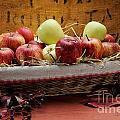 Basket Of Apples by Bruno D'Andrea