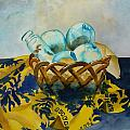 Basket Of Floats by Sue Roach