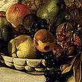 Basket Of Fruit Detail Bacchus by Caravaggio