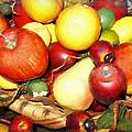 Basket Of Fruit by Joan Reese
