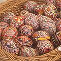 Basket With Easter Eggs by Stefan Silvestru