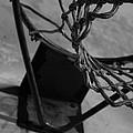 Basketball At Night by Nathanael Verrill