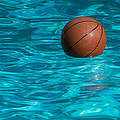 Basketball In The Pool  by Manuel Lopez