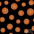 Basketball Pattern by Li Or