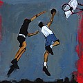 Basketball Players by Paul Powis