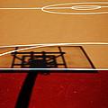Basketball Shadows by Karol Livote
