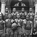 Basketball Team Portrait by Underwood Archives