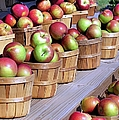 Baskets Of Apples by Janice Drew