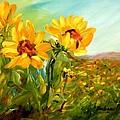 Basking In The Sun by Barbara Pirkle