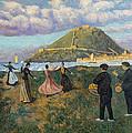 Basque Celebration. Dance At El Antiguo San Sebastian by Dario de Regoyos