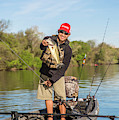 Bass Caught In Austin Texas by Dustin Doskocil