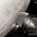 Bass Drum And Mic by Chris Berry