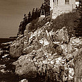 Bass Harbor Head Lighthouse by Skip Willits