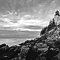 Bass Harbor Lighthouse at Dusk by Diane Diederich