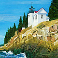 Bass Harbor Lighthouse by Mike Robles