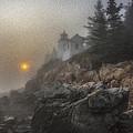 Bass Harbor Mist by Sara Hudock