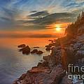 Bass Harbor Sunset by Adam Jewell