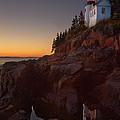 Bass Head Harbor Lighthouse by Jonathan Steele