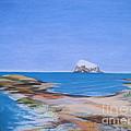 Bass Rock North Berwick by Yvonne Johnstone