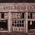 Bass Sales Co Cairo Il Monotoneimg 2962  by Greg Kluempers