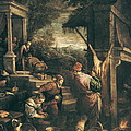 Bassano, Leandro 1557-1622. The Return by Everett