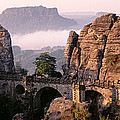 Bastei, Saxonian Switzerland National by Panoramic Images