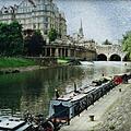 Bath Canal by Marilyn Wilson