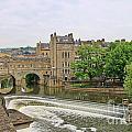 Bath On River Avon 8482 by Jack Schultz