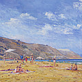 Bathers, Gozo  by Christopher Glanville
